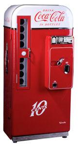 Coca cola üdítőautomata
