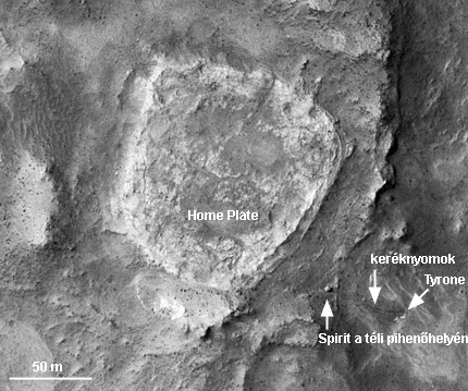 Forrás: NASA/JPL-Caltech/Univ. of Arizona
