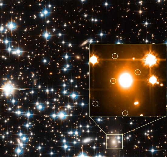 Forrás: NASA, ESA, H. Richer (UBC), J. Kalirai (UCSC)