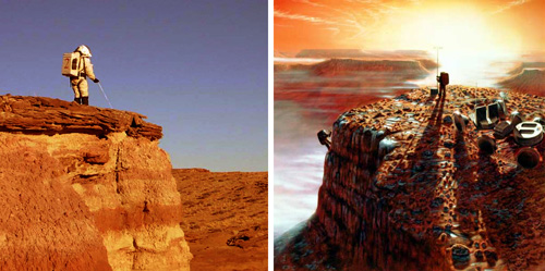 Forrás: Mars Society, NASA
