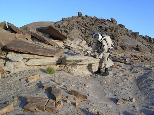 Forrás: HungaroMars 2008, Mars Society