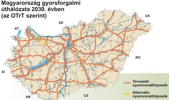 magyarország gyorsforgalmi úthálózata térkép A politika hagyja békén a sztrádákat! magyarország gyorsforgalmi úthálózata térkép