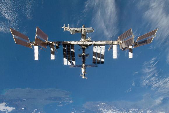 Forrás: STS-128, NASA