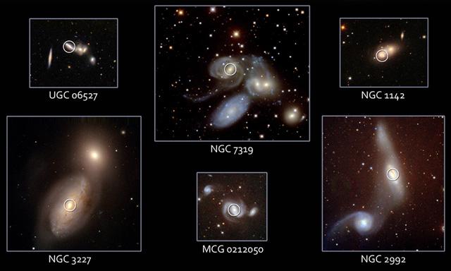 Forrás: NASA, Swift, NOAO, Michael Koss, Richard Mushotzky, Univ. Maryland