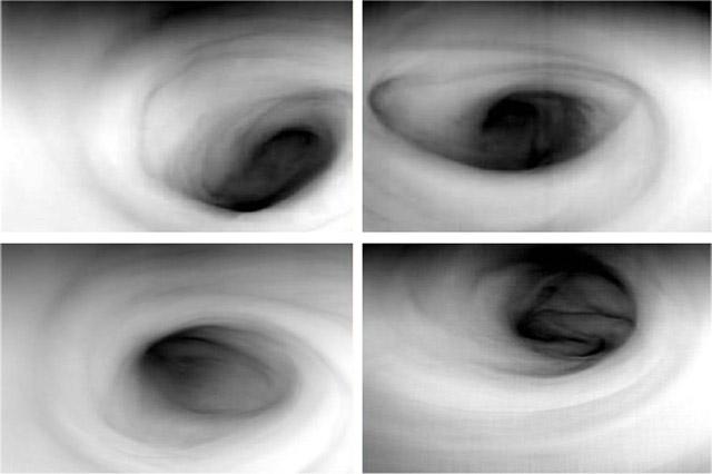 Forrás: ESA, Venus Express, VIRTIS, INAF-IASF, Obs. de Paris-LESIA