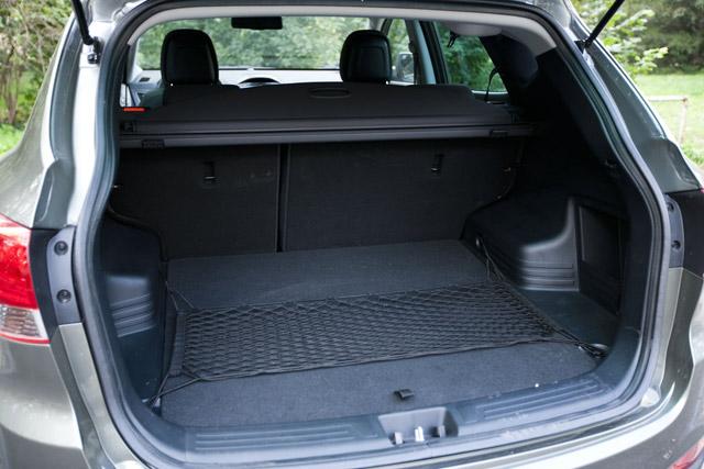 Hyundai ix35 csomagtartó méret