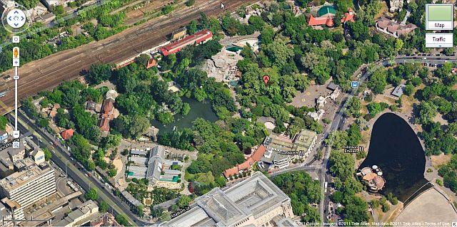 állatkert budapest térkép A világ legnagyobb felbontású légifotója készült az állatkertről állatkert budapest térkép