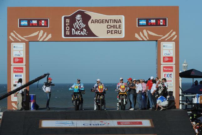 Forrás: Eric Vargiou/Dakar