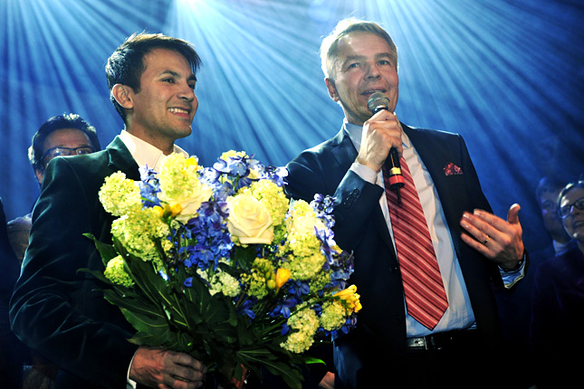 Открытый гей будет бороться за пост президента Финляндии во втором туре. Л