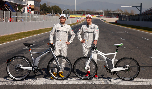 Forr�s: Mercedes GP