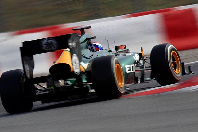 Forr�s: Caterham F1