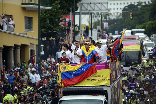 Forr�s: AFP/Juan Barreto