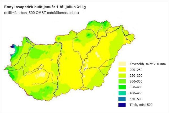 eső térkép magyarország Így szárad ki Magyarország eső térkép magyarország