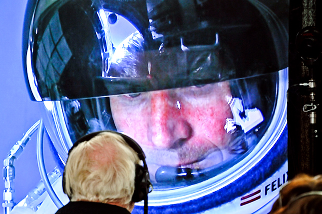 Forrás: AFP/Red Bull Stratos