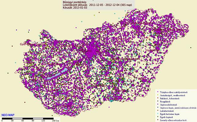 bűnügyi térkép Nyugalomra vágyik? Irány Csepel! bűnügyi térkép