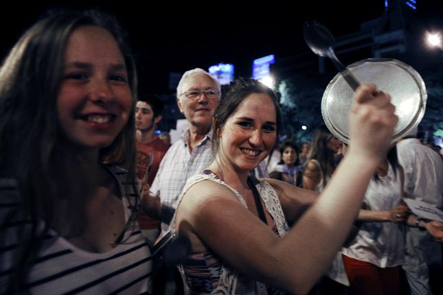 Forrás: AFP/Alejandro Pagni