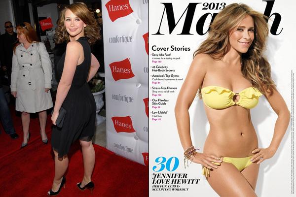 Jennifer Love Hewitt dögösebb, mint valaha
