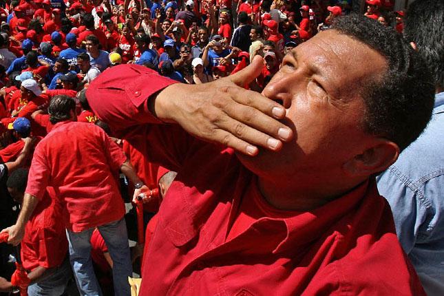 Forr�s: AFP/Venezuelai Eln�ki Hivatal