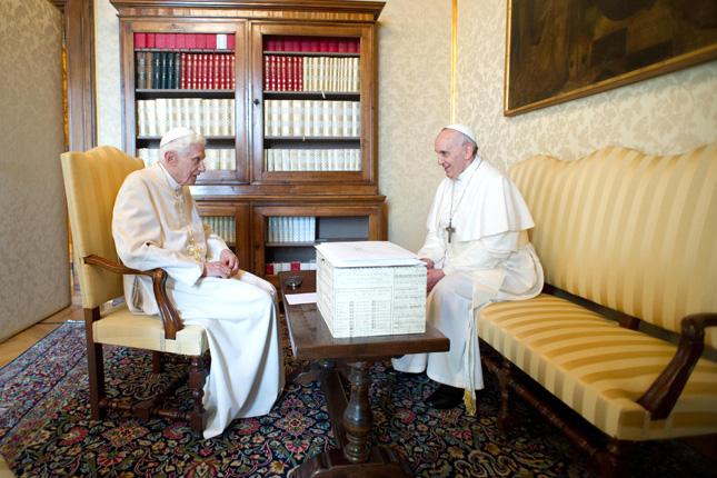 Forrás: AFP/Osservatore Romano