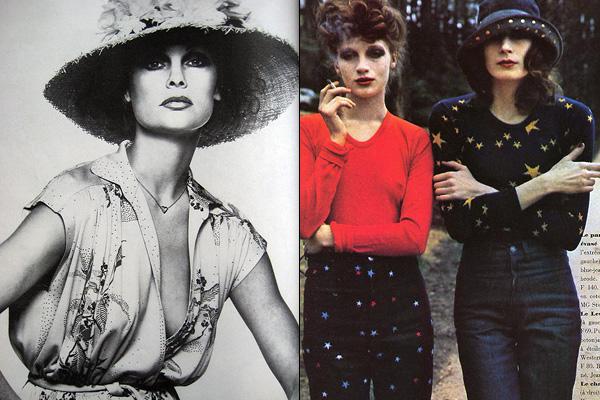 Forrás: Vogue (1975 és 1971)