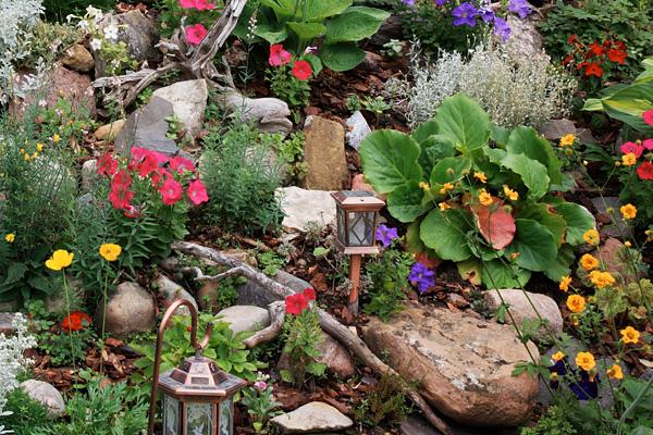 6 szemet gyönyörködtető kerti dekoráció