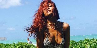 Forr�s: Instagram/ Rihanna