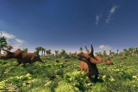 Forr�s: Dinosaurus at Dusk