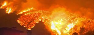Forrás: MTI/AP/Santa Barbara megyei tűz/Mike Eliason